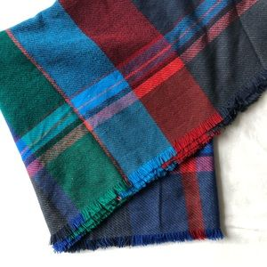 Merona Plaid Scarf - Medium Weight